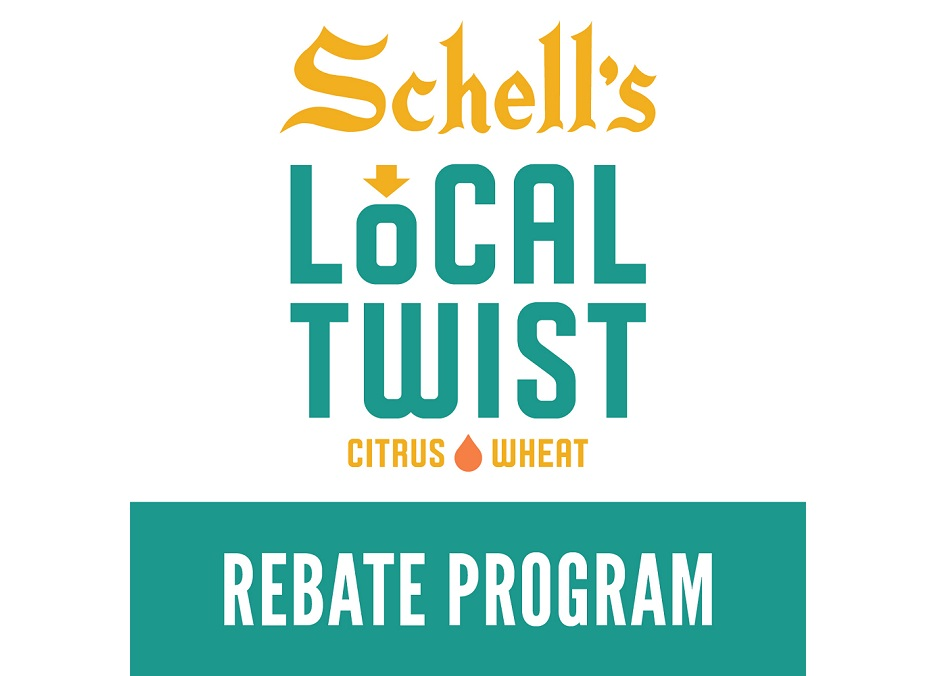 Get $5 back when you purchase ONE (1) 12-pack of Local Twist AND any ONE (1) 12-pack of Schell's Craft. Thanks to John for submitting this offer!